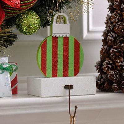 Wooden Ornament Stocking Holder