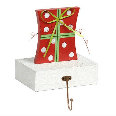 Wooden Present Stocking Holder