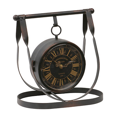 Double-Sided Harness Tabletop Clock