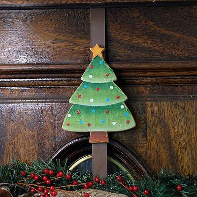 Christmas Tree Wreath Hanger
