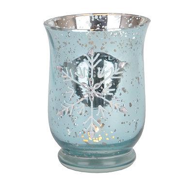Heavenly Blue Votive Candle Holder
