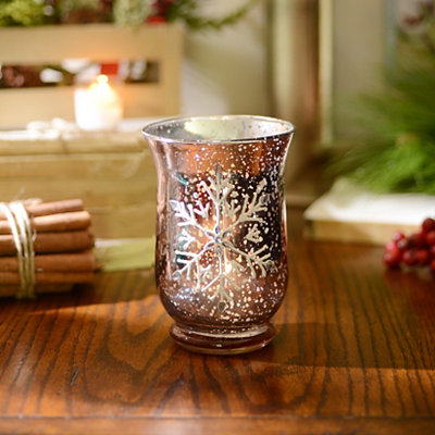 Heavenly Brown Votive Candle Holder