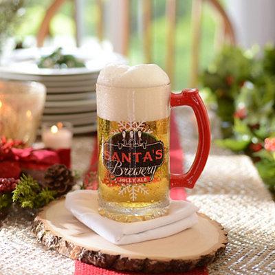 Santa's Brewery Beer Mug