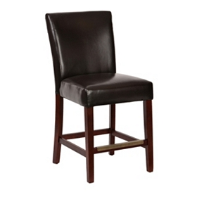 Oliver Brown Faux Leather Dining Chair
