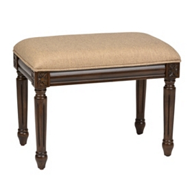 Antique Beige Bench