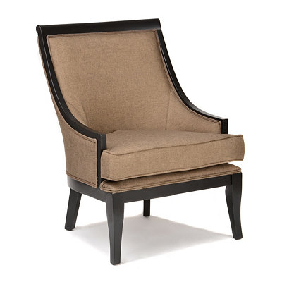 Traditional Oatmeal Arm Chair