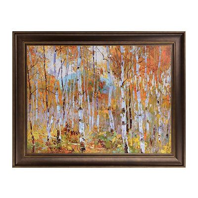 Fall Magic Framed Art Print