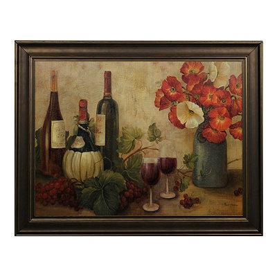 Vintner's Table Framed Art Print