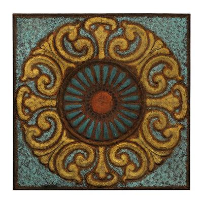 Giroux Medallion Metal Tile