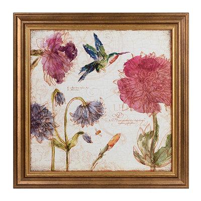Bijou Bouquet Framed Art Print