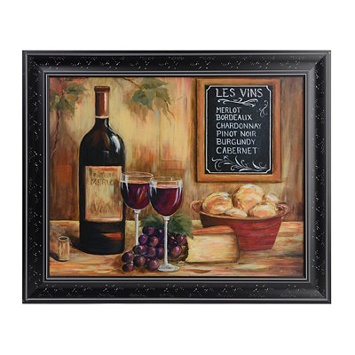 Le Vins Framed Art Print