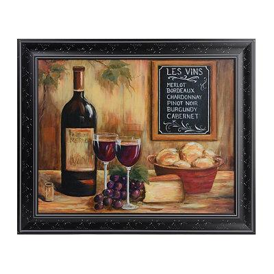 Le Vins Framed Art Print