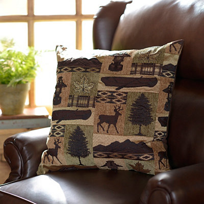 Fargo Evergreen Pillow