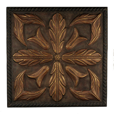 Bronze Lily Metal Tile
