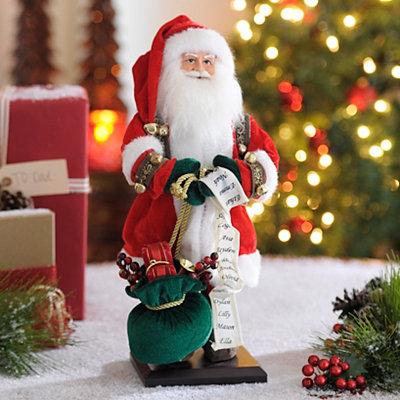 Department Store Santa Statue