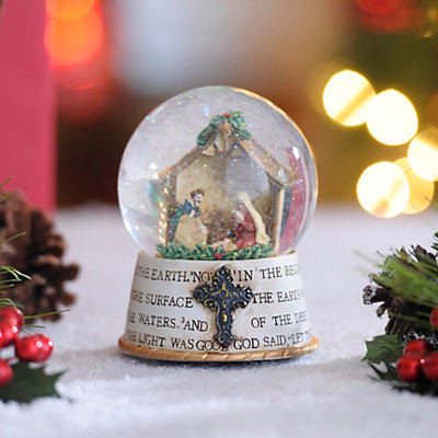 Nativity Christmas Snow Globe