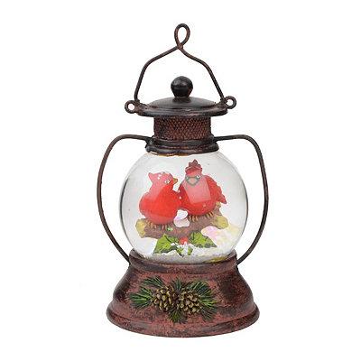 Kissing Cardinals Snow Globe