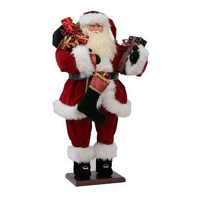 Traditional Santa Statue, 36 in.