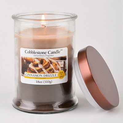 Cinnamon Drizzle Jar Candle