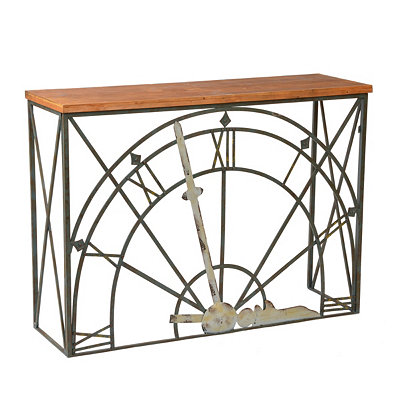Clockwork Console Table