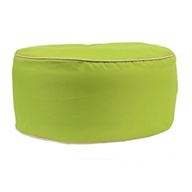 Indoor Outdoor Lime Green Pouf