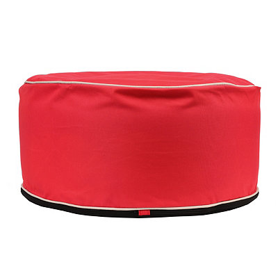 Indoor Outdoor Red Pouf