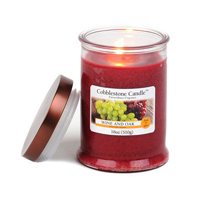 Wine and Oak Jar Candle