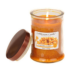 Caramel Corn Jar Candle