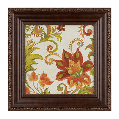 China Spice Floral II Framed Art Print