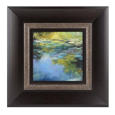 Water Lilies I Framed Art Print