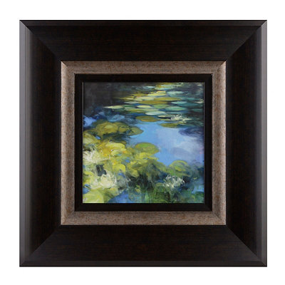 Water Lilies II Framed Art Print