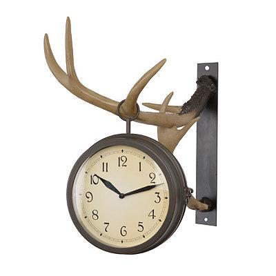 Deer Park Antler Clock