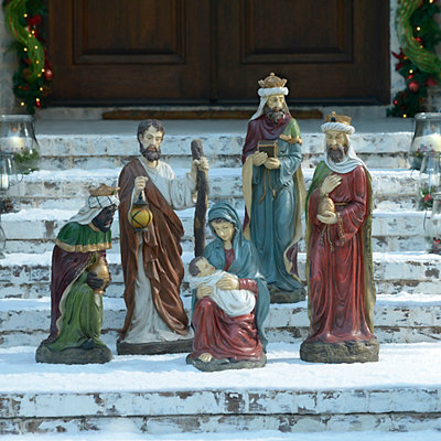 Large Nativity Set, 5-pc.