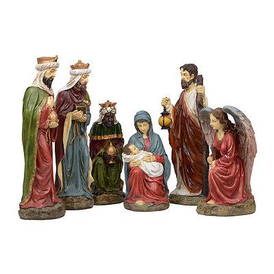 Large Nativity Set, 6-pc.