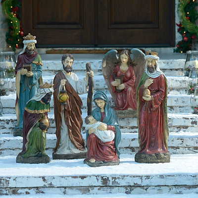 Large Nativity Set, 6-pc.