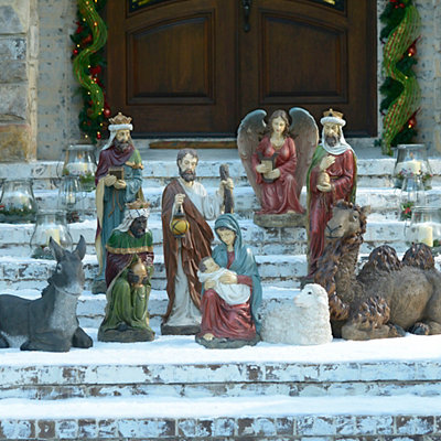 Large Nativity Set, 9-pc.