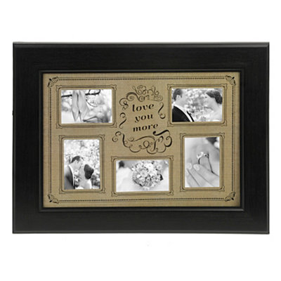 Love You More Collage Frame