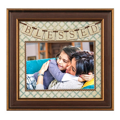 Blessed Pennant Banner Picture Frame, 5x7