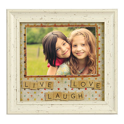 Live, Laugh, Love Tiles Picture Frame, 5x7