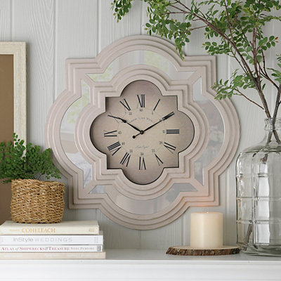 Ivory Calcutta Wall Clock