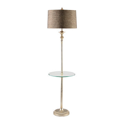 Silver Table Floor Lamp