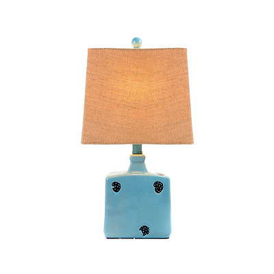 Blue Sea Ceramic Table Lamp