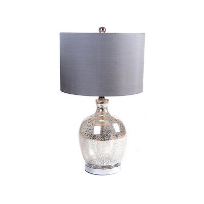Lala Silver Mercury Table Glass Lamp