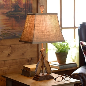 Two Oars Table Lamp