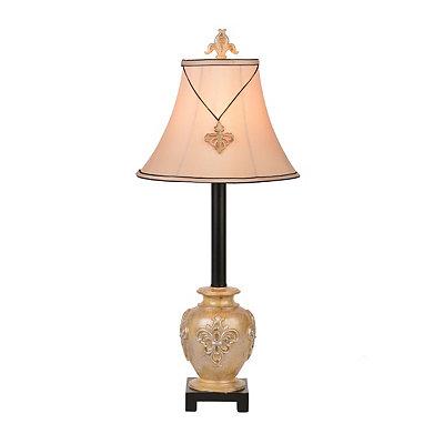 Golden Fleur Buffet Lamp