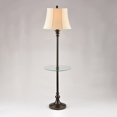 Menlo Bronze Table Floor Lamp