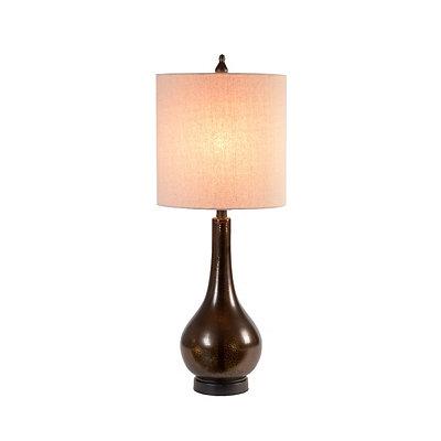 Mocha Drop Table Lamp