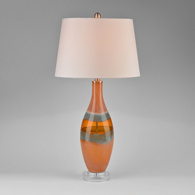 Moonglow Glass Table Lamp