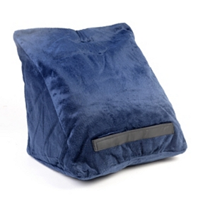Navy Tablet Pillow Wedge