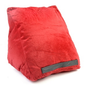 Burgundy Tablet Pillow Wedge